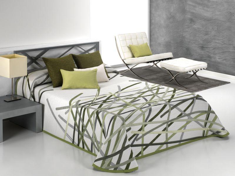 Cuvertura de pat BASTIAN verde, dimensiune 190 cm x 270 cm perdele-online.ro 2021