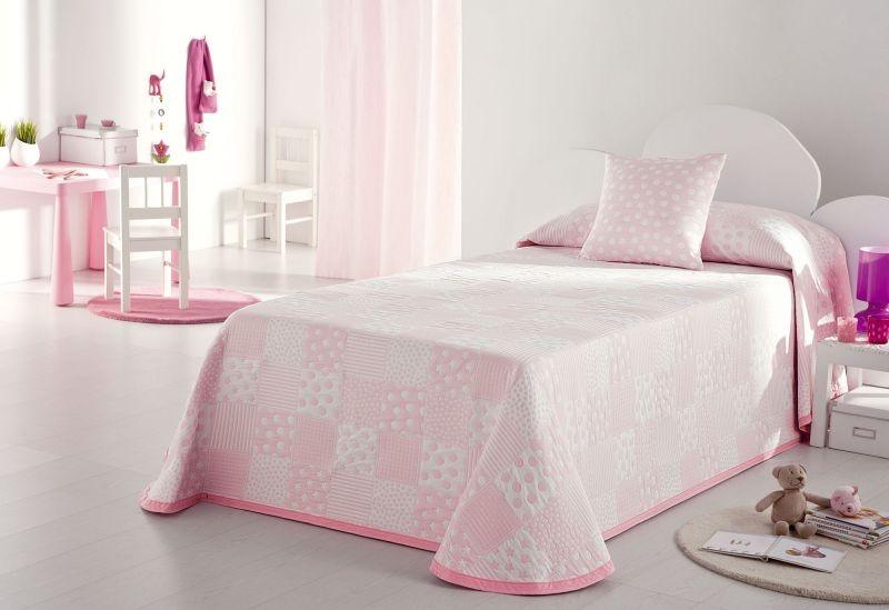 Cuvertura de pat PISPA roz, dimensiune 205 cm x 270 cm perdele-online.ro 2021