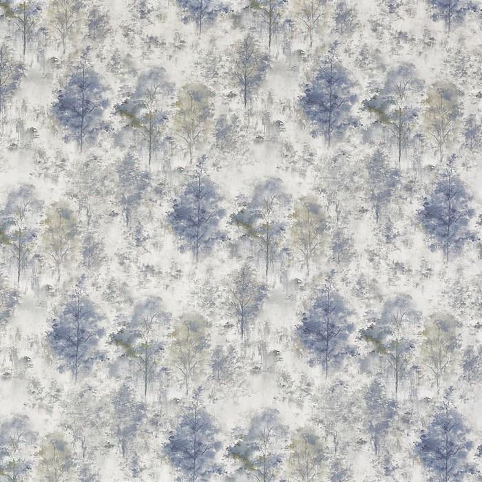 Draperie Woodland Saxon Blue perdele-online.ro 2021