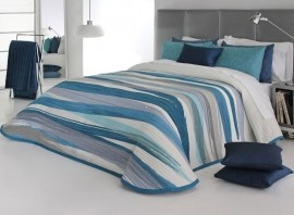 Cuvertura de pat BEYKER blue, dimensiune 250 cm x 270 cm