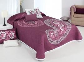 Cuvertura de pat BLAZE rosa, dimensiune 250 cm x 270 cm