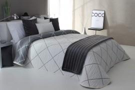 Cuvertura de pat DAMIR gri, dimensiune 280 cm x 270 cm