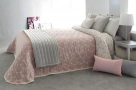 Cuvertura de pat DOBSON roz, dimensiune 190 cm x 270 cm