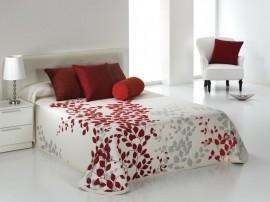 Cuvertura de pat GEISHA rosu, dimensiune 235 cm x 270 cm