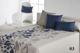 Cuvertura de pat LAMI albastru
