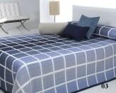 Cuvertura de pat LICHI albastru