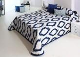 Cuvertura de pat MARSHALL albastru