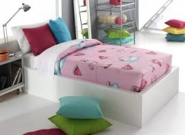 Cuvertura de pat PINK AG fix, roz, dimensiune 90 cm x 200 cm
