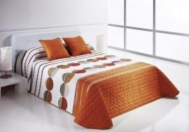 Cuvertura de pat SIPO 2P portocaliu, dimensiune 235 cm x 270 cm