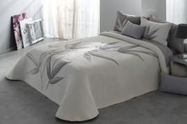Cuvertura de pat SPECTER gri, dimensiune 235 cm x 270 cm