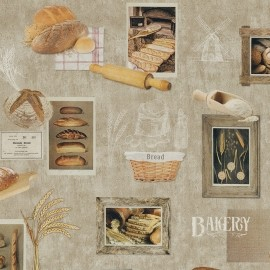 Material textil BAKERY