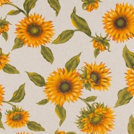 Material textil SUNFLOWER