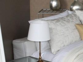 Perna decorativa PALERMO alb, dimensiune 50 cm x 70 cm